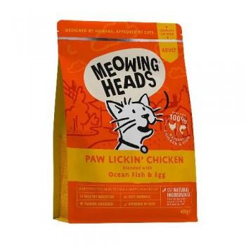 "Barking Heads / Баркинг Хедс Для Взрослых кошек с Курицей и рисом ""Куриное наслаждение"" (Paw Lickin' Chicken 450g), 450 гр"