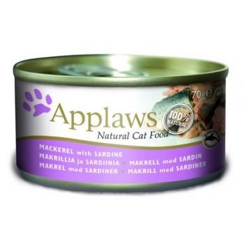 Applaws / Эпплаус Консервы для кошек со Скумбрией 0,07 кг