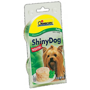 Gimborn / Гимборн Консервы Shiny Dog с цыплёнком в блистере д/собак, 2*85 г