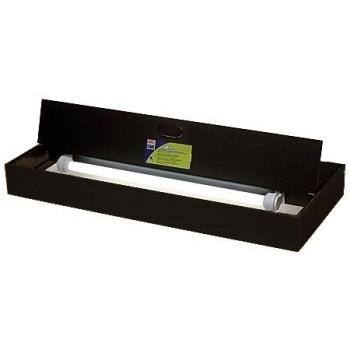 Juwel / Ювель светильник с рамкой и крышками Multilux II 100х40см черный 2x45W T5