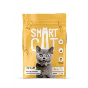 Smart Cat / Смарт Кэт сухой корм для котят с цыпленком , 5 кг