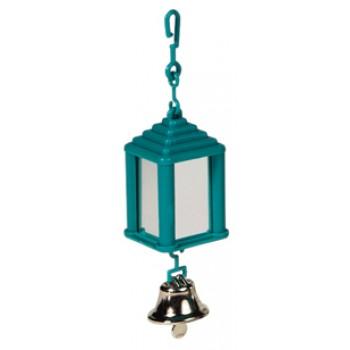 Hagen / Хаген игрушка для птиц - зеркальце в форме фонаря с колокольчиком