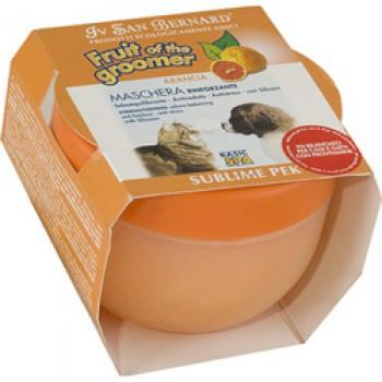 Iv San Bernard / Ив Сан Бернард Fruit of the Grommer Orange Бернард Маска Апельсин с силиконом д/собак и кошек для слабой выпадающей шерсти 0,25л