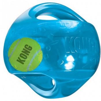 Kong / Конг игрушка для собак Джумблер Регби 18 см средние и крупные породы, синтетическая резина