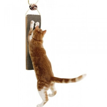 "Kitty City Подвесная когтеточка ""Царапка"" 5*13*46 см (Hanging Scratcher) PL0649"