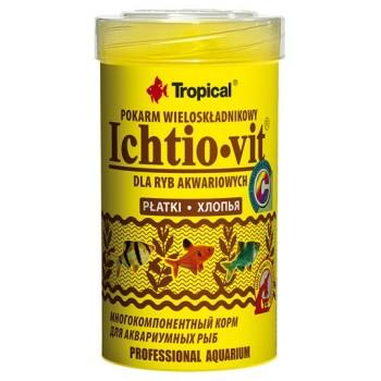 Tropical / Тропикал 770030/85881 корм для аквариумных рыб (хлопья) Ichtio-vit 100 мл/20гр