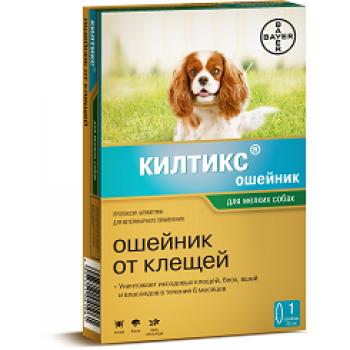 Килтикс (Байер) ошейник 38 см для собак мелких пород