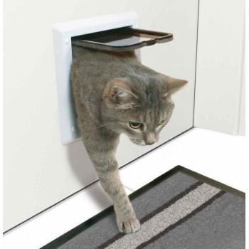 Trixie / Трикси Дверца д/кошек с 4-мя функциями 16,5*17,4см 38621
