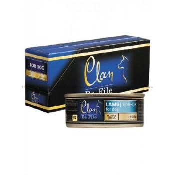 Clan / Клан De File консервы для собак Ягненок, 0,1 кг