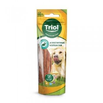 Triol / Триол Аппетитные колбаски из кролика для собак, 40г