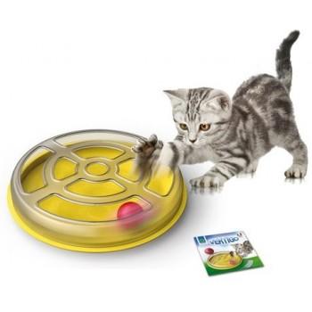 Georplast / Георпласт Игрушка д/кошек с шариком VERTIGO d 29см пластик