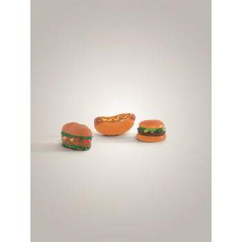 Beeztees / Бизтис 620317 Игрушка д/собак (сэндвич, гамбургер, хотдог), винил, в ассорт. 11см