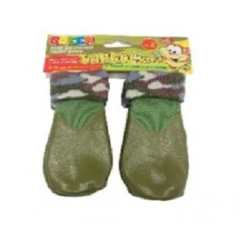 БАРБОСки носки д/собак, высокое латексное покрытие, цвет - зеленый размер - 2