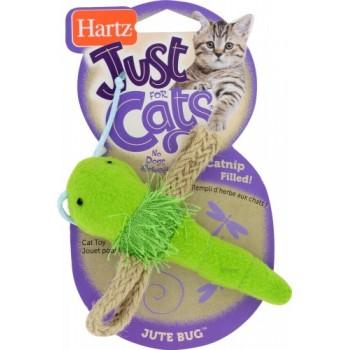Hartz / Хартц Игрушка д/кошек - стрекоза, мягкая JFC Jute Bugs Cat Toy