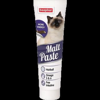 Beaphar / Беафар Паста «Malt Pastе» для выведения шерсти из желудка д/кошек, 100 гр