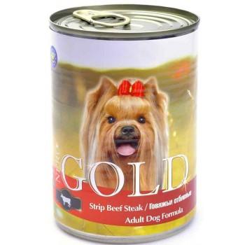 """Nero Gold / Неро Голд для собак """"Говяжьи отбивные"""" 0,41 кг"""