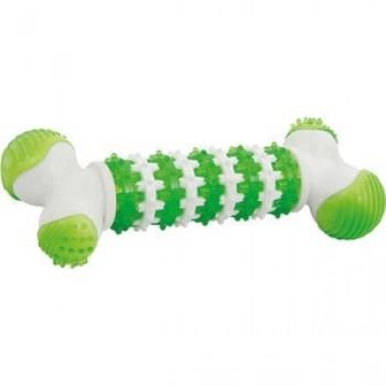 """Игрушка """"Грызлик Ам"""" Косточка Dental Nylon Размер 12,5 см, Цвет Зеленый, Материал Нейлон"""