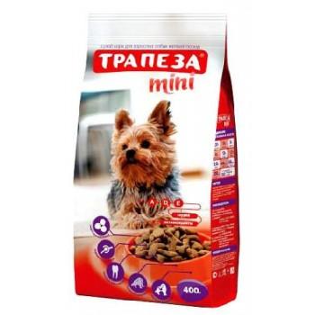 Трапеза Mini сух.д/собак миниатюрных пород 400г