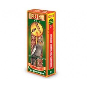 """Престиж """"Жесткие Палочки"""" лакомство для волнистых попугаев с мёдом, 150 гр"""