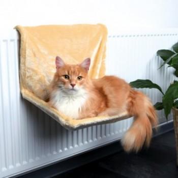 Trixie / Трикси Гамак д/кошек на радиатор бежевый, плюш 40х30х27см 43201К