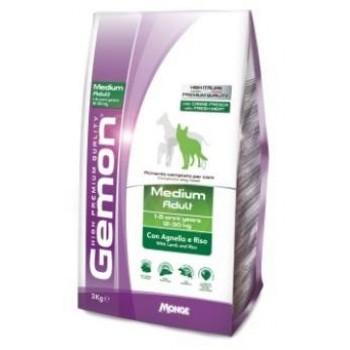 Gemon / Гемон Dog Medium корм для собак средних пород ягненок с рисом 15 кг