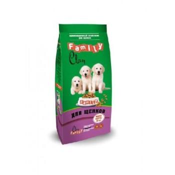 Clan / Клан Family сухой корм для щенков всех пород Курица, 10 кг