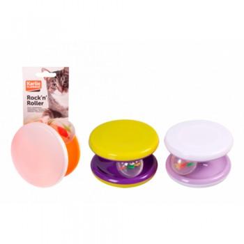 Karlie-Flamingo / Карли Фламинго Игрушка д/кошек колесо с игрушкой, модель в асс-те