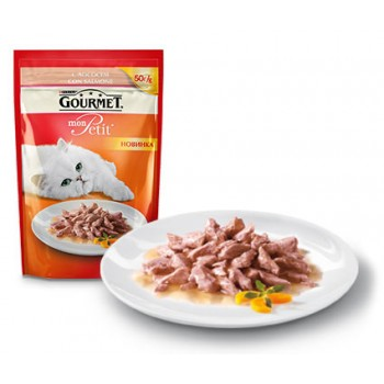 Gourmet Mon Petit / Гоурмет Мон Петит Лосось 50 гр
