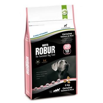 Bozita / Бозита Robur 20/10 сух.корм д/собак Лосось/рис 5кг