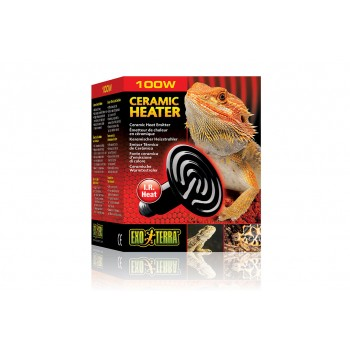 Exo Terra / Экзо Терра Тепловой керамический излучатель Ceramic Heater 100 Вт d=8,5 см. PT2046