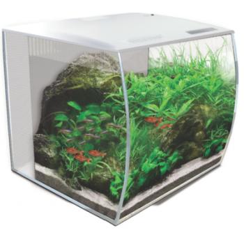 Hagen / Хаген Аквариум Fluval Flex с изогнутым стеклом (34л) белый
