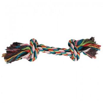 """Triol / Триол Игрушка для собак """"Веревка, 2 узла"""", 200мм"""