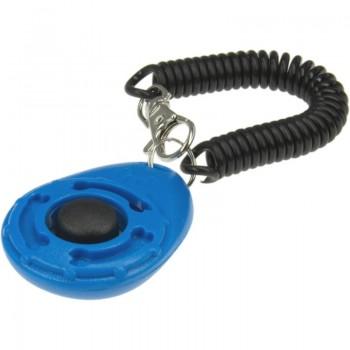 ZooOne Кликер на браслете с карабином (синий)