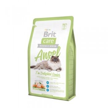 Brit / Брит Care Cat Angel Delighted Senior для пожилых кошек, 2 кг