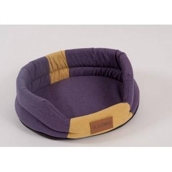 Katsu / Катсу ANIMAL 65х54 см лежак для животных фиолетово-песочный
