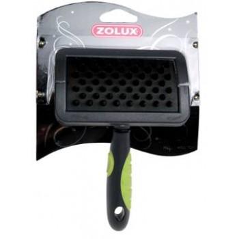 Zolux / Золюкс Щетка резиновая с ручкой средняя, M
