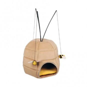 Karlie-Flamingo / Карли Фламинго Игрушка д/кошек Дом-пчелиный улей с игрушками 40 см