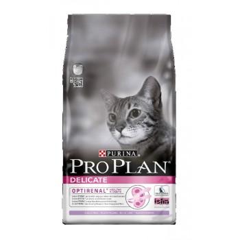 """Pro Plan / Про План """"Delikate"""" сухой для кошек пробл пищев Индейка 10 кг"""