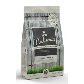 Bozita / Бозита 13023 Naturals Grain Free 26/16 сух.д/собак беззерновой 3,2 кг