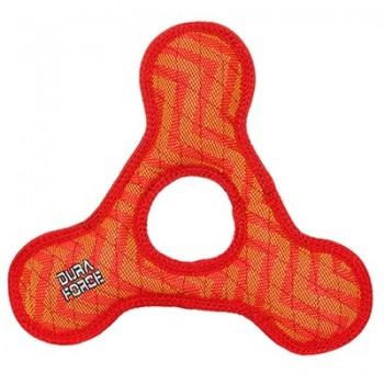 Tuffy / Таффи Супер прочная игрушка для собак Треугольник с круглым отверстием, красный, прочность 9/10