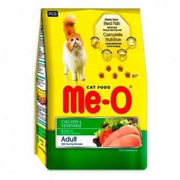 Ме-О Adult сух.д/кошек Курица с овощами (35шт*200г) 7кг 2432