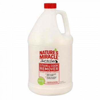 8in1 уничтожитель пятен и запахов от кошек NM JFC S&O Remover универсальный 3,7 л