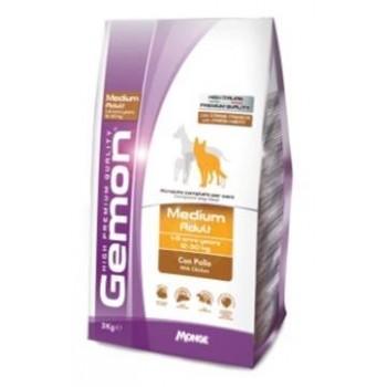 Gemon / Гемон Dog Medium корм для собак средних пород с курицей 15 кг