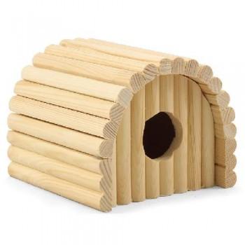 Gamma / Гамма Домик полукруглый для мелких животных деревянный, 125*130*105мм