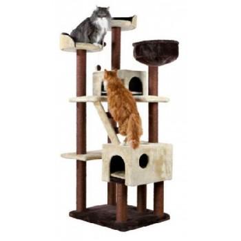 """Trixie / Трикси 47001 Домик для кошки """"Felicitas"""" 190см коричневый/ бежевый"""