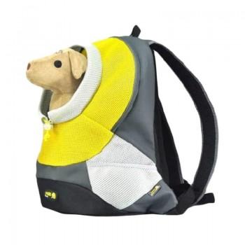 Crazy Paws Sport De Lux Переноска-рюкзак L, 41,5х17,5х43см, до 5кг, желт, DPETC022-YW (7058)