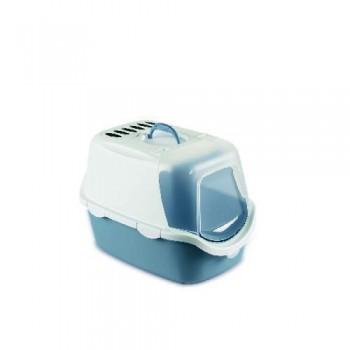 Stefanplast / Стефанпласт Туалет-Домик Cathy Easy Clean с угольным фильтром, синий, 56*40*40см