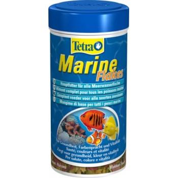 TetraMarine / Тетра Flakes корм для морских рыб в хлопьях 250 мл