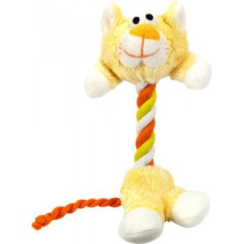 Hartz / Хартц Игрушка д/собак - Зверь-канат, мягкая, маленькая Tiny Dog Heads N Tails Dog Toy