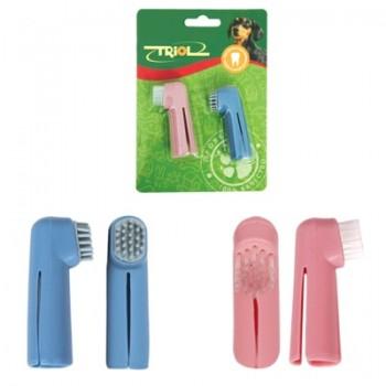 Triol / Триол Набор зубных щеток-напальчников, 60мм (уп.2шт.)